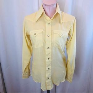 Vintage 70s Wrangler Rodeo/Western Button Down